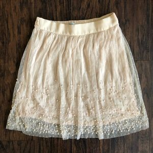 Urban Outfitters Pearl Mini Skirt